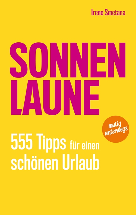 Book cover SONNENLAUNE, author Irene Smetana