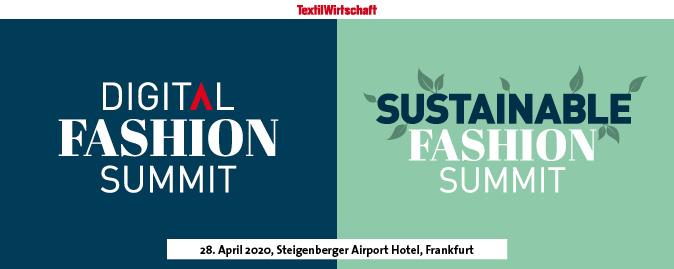 Double Logo of Digital Fashion Summit and Sustainable Fashion Summit