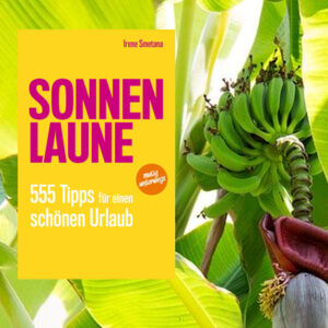 cover book SONNENLAUNE and banana tree fruit